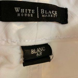 White House Black Market Jeans - White House Black Market White Jeans